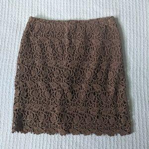 Willi Smith Textured Pencil Skirt